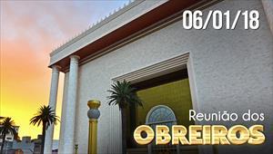 Reunião de obreiros - 06/01/18