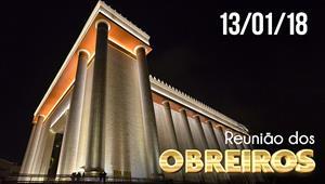 Reunião de Obreiros - 13/01/2018