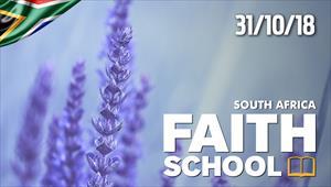 Faith School - 31/10/18 - South Africa
