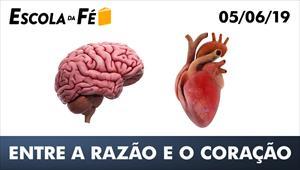 Entre a razão e o coração - Escola da Fé - 05/06/19