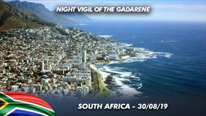 Night Vigil of the Gadarene - 30/08/2019 - South Africa