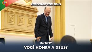 Você honra a Deus? -  22/12/19 - Bispo Macedo direto de Portugal