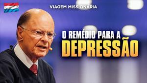 O remédio para a depressão - Bispo Macedo direto de Luxemburgo - 19/01/20