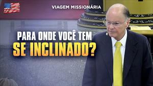 Para onde você tem se inclinado? - Bispo Macedo direto dos Estados Unidos - 02/02/20