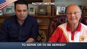 To serve or to be served? - 23/04/20 - Pastor's Meeting