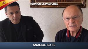 Analice su fe - Reunión de Pastores - 07/05/20