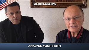 Analyse Your Faith - Pastors' Meeting - 07/05/20