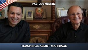 Teachings about Marriage - Pastor's Meeting - 14/05/20
