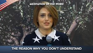 The reason why you don't understand - Meditation of the word
