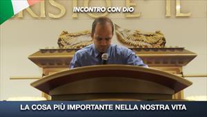 Incontro con Dio - 23/08/20 - Itália - La cosa più importante nella nostra vita