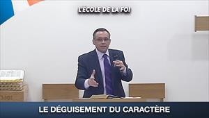 Le déguisement du caractère - L'école de la Foi - 02/09/20 - France