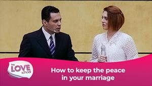 The Love School - USA - 31/10/20 - How to keep the peace in your marriage