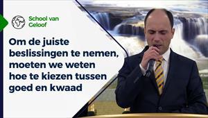 School van Geloof - 10/02/21 - Nederland