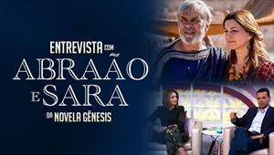 Entrevista com Abraão e Sara da novela Gênesis