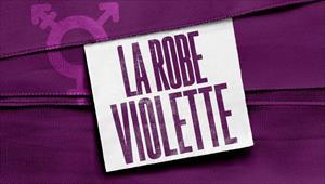 La robe violette