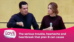 The love School - USA - 10/07/21 - The serious trouble, heartache and heartbreak that plan B can cause