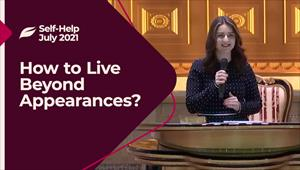 Godllywood Self-Help - 31/07/21 - England - How to Live Beyond Appearances?