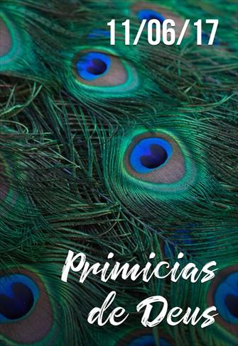 Primícias de Deus -  11/06/2017