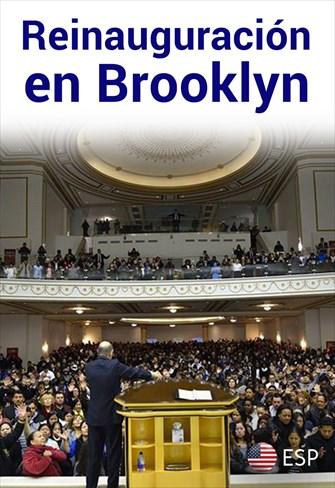 Reinauguración en Brooklyn - EUA