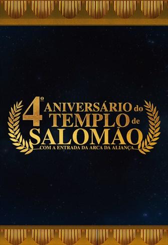 Templo de Salomão - Especial 4 anos