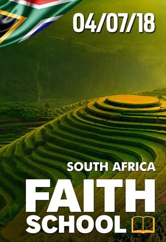 Faith School - 04/07/18 - South Africa