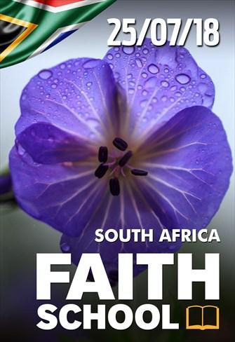 Faith School - 25/07/18 - South Africa