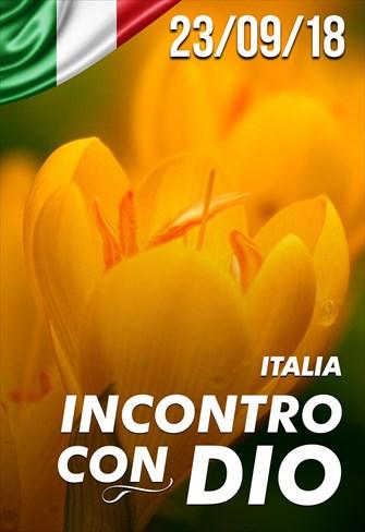 Incontro con Dio - 23/09/18 - Italia