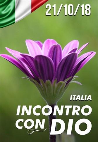Incontro con Dio - 21/10/18 - Italia
