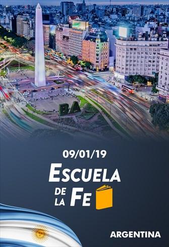 Escuela de la fe - 09/01/19 - Argentina