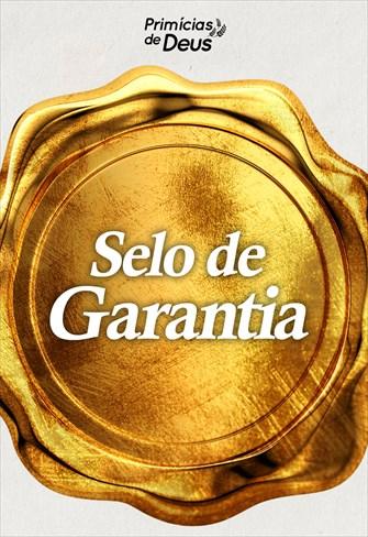 Selo de garantia - Primícias de Deus - 15/09/19