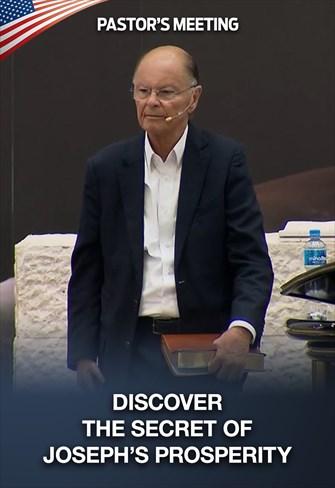 Discover the secret of Joseph's prosperity - Pastor's Meeting - 09/07/20