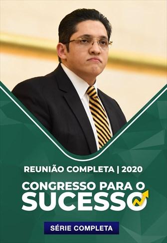 Congresso para o Sucesso - Bispo Allan Sena - [Reunião Completa]