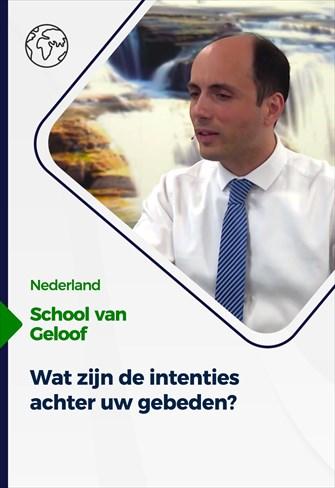 School van Geloof - 02/06/21 - Nederland