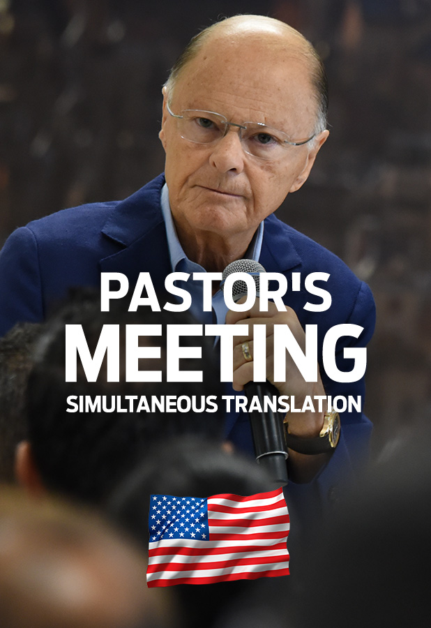 Pastor's Meeting - Simultaneous translation