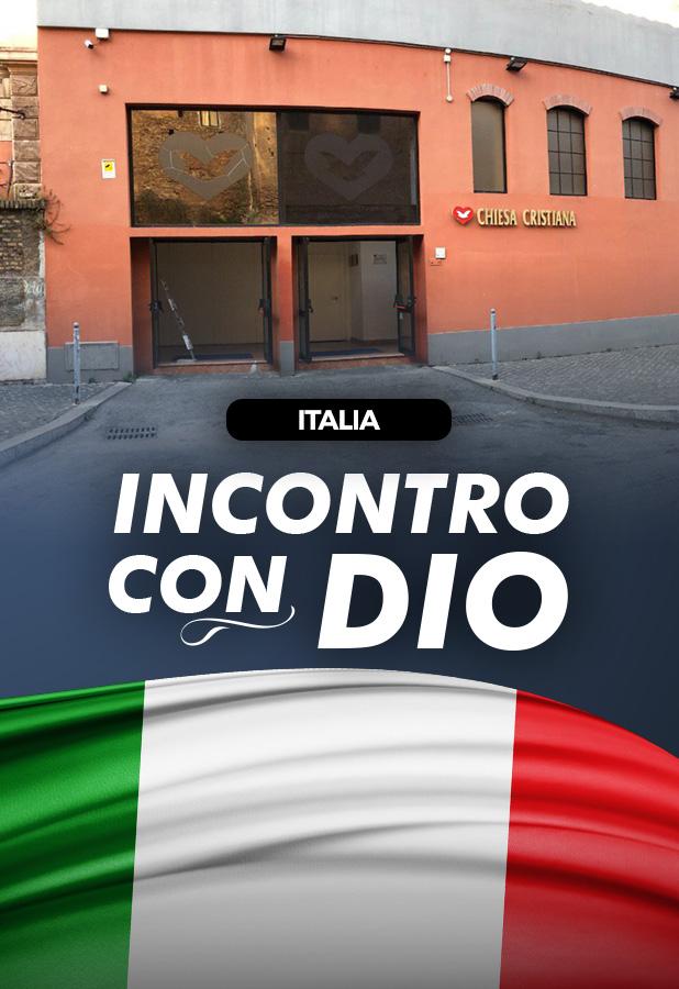 Trasmissione in diretta dall'Italia